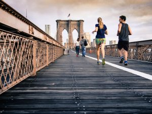 does running improve posture