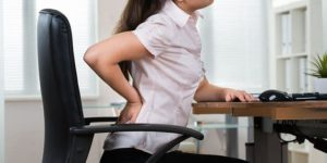 poor desk posture side effects