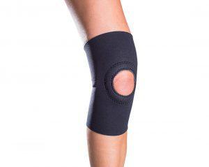 can you sleep with a knee brace on