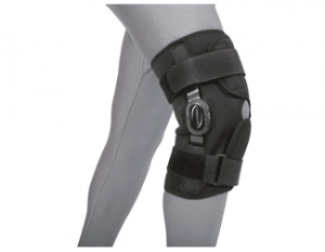 how long should I wear a knee brace