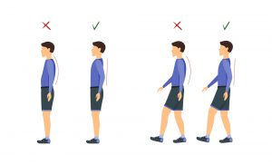 how to maintain good body posture
