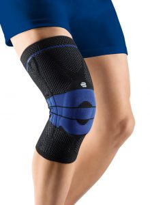 how to wear a knee immobilizer while sleeping