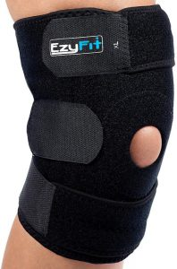 adjustable knee brace for large legs